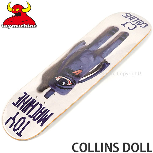 トイ マシーン TOY MACHINE コリンズ ドール COLLINS DOLL スケボー サイズ:7.75in スケートボード 板 限定Special Price デッキ ストリート 5☆好評 SKATEBOARD