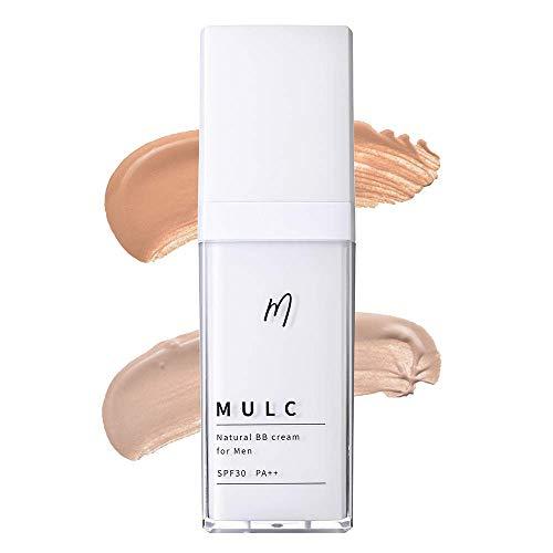 MULC ムルク ナチュラルBBクリーム ライトベージュ 流行 毎日続々入荷 汗で落ちにくい メンズ 化 メンズメイク ファンデーション クリーム 美容液