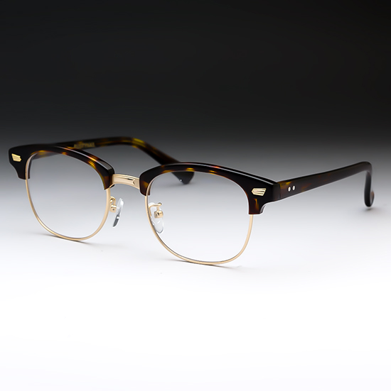 遠近両用メガネ HOYA 累進レンズ付き 処方箋 ラスティネイル ヴィンテージ ボストン おしゃれ 男性 UVカット ブルーカット 各種コート 視力補正用 累進屈折力レンズ ハンドメイド 程良い視界 遠近両用老眼鏡 ケース付き ブラウン RN1035C2