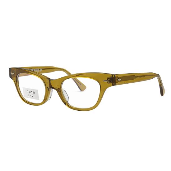 老眼鏡 ヴィンテージ ウェリントン おしゃれ メンズ 男性 ケース付き 遠近両用老眼鏡 ブルーライトカット サングラス 左右違い 度数 0.25 0.5 0.75 1.0 1.25 1.5 1.75 2.0 2.25 2.5 2.75 3.0 3.25 3.5 3.75 4.0 ラスティネイル RN1019C2 クリアブラウン