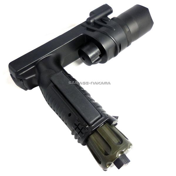 Broptical M900Aタイプ タクティカル グリップライト ウェポンライト タクティカル フラッシュライト タクティカルライト サバゲー サバイバルゲーム 装備 LED LED