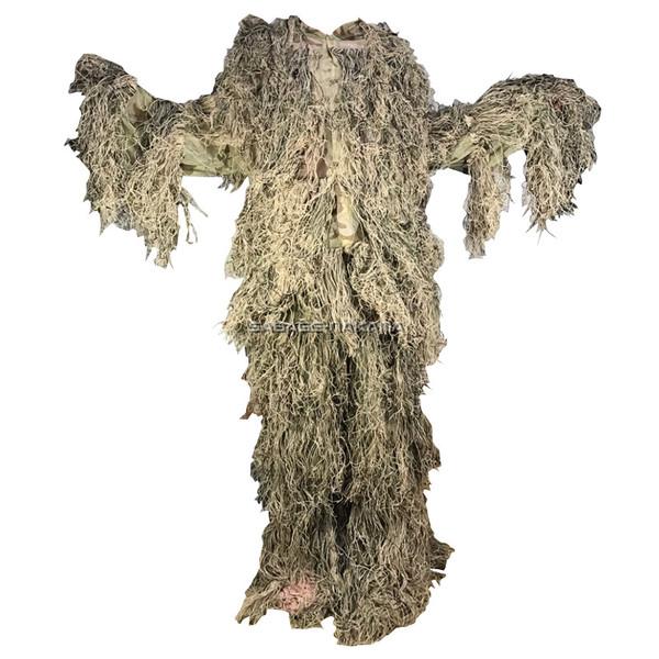 ギリースーツ Broptical 上下セット マルチカム 枯れ木 草原に 服装 ギリー 公式ストア [並行輸入品] bdu 迷彩 サバゲー