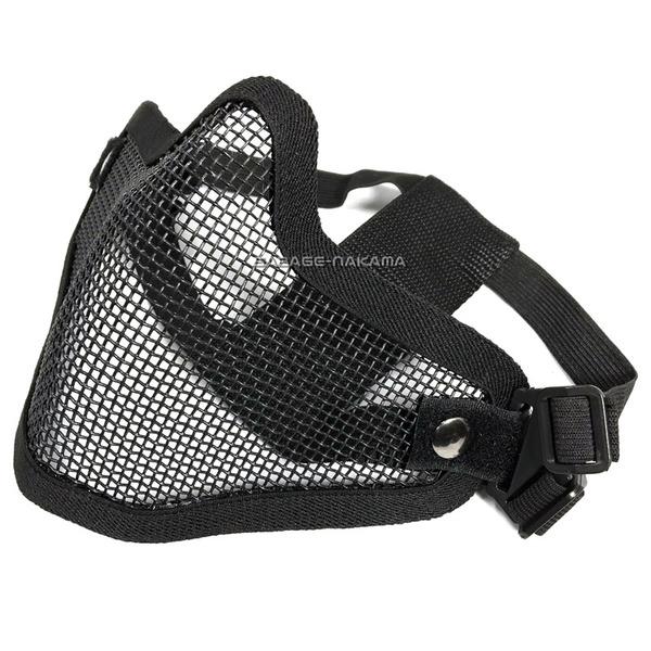 小物 Broptical OP メッシュ形状 ハーフマスク 黒 メンズ レディース 装備 サバゲー サバイバルゲーム [宅送] フェイスガード セール商品