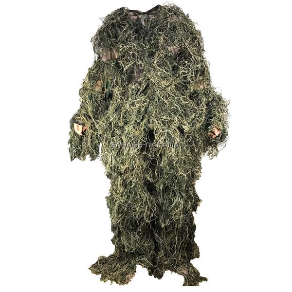 Broptical ギリースーツ 上下セット ウッドランド 枯れ木・草原に! 迷彩 bdu サバゲー ギリー