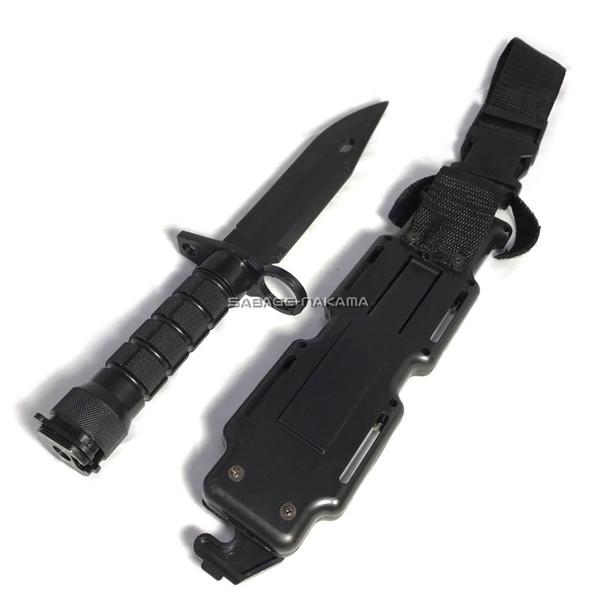 《週末限定タイムセール》 小物 Broptical M9 Bayonet 銃剣 タイプ 樹脂製 BDU ミリタリー ダミーナイフ ケース付き サバゲー 迅速な対応で商品をお届け致します サバイバル