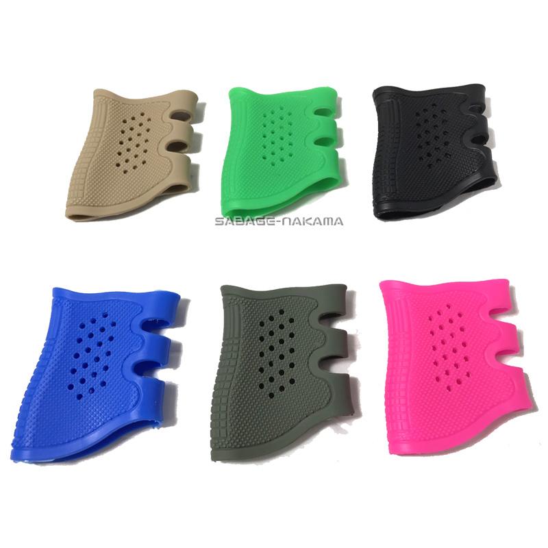 グリップ Broptical Glock Pachmayrタイプ タクティカルグリップ ラバーグリップ ハンドガン用 全国どこでも送料無料 6色 専門店 スリップオン グロック対応 グローブ 人気 ピンク OD BK ハンドガングリップ サバゲー TAN 装備 サバイバルゲーム 青 ライトグリーン