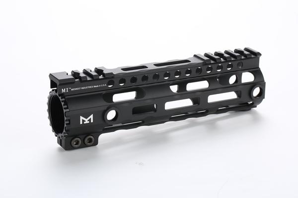 ハンドガード Broptical 超軽量 アルミ 贈与 MIDWEST タイプ M-LOK 7inch BK RAS GG ミリタリー サバゲー メーカー直送 ブラック マルイ 黒 対応 装備 VFC パーツ