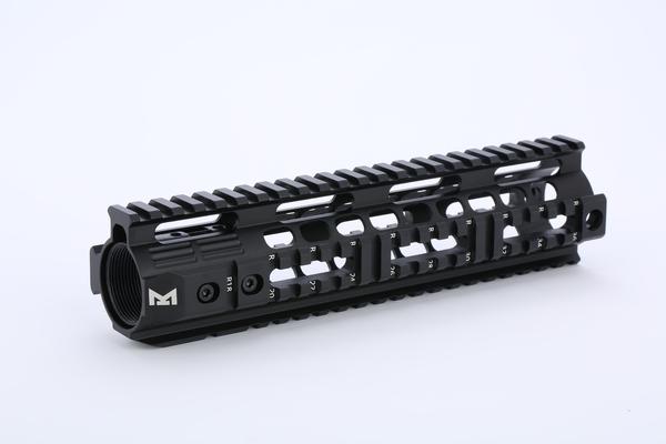 ハンドガード Broptical MIDWEST INDUSTRIES タイプ M4 フリーフロート RAS 9inch ver2 装備 パーツ マルイ 対応 BK サバゲー 送料無料 タクティカルハンドガード ミリタリー GG メイルオーダー VFC