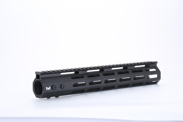 限定特価 ハンドガード Broptical MIDWEST タイプ M-LOK 12inch サバゲー パーツ タクティカルハンドガード BK ブラック 対応 GG マルイ VFC 年末年始大決算 黒 12インチ