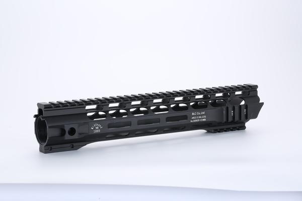 Broptical 超軽量 シャークヘッド M-LOK ハンドガード 12inch サバゲー パーツ タクティカルハンドガード ブラック BK 黒 マルイ VFC G&G 対応 12インチ