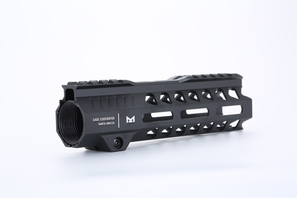 Broptical STRIKE INDUSTRIES タイプ M-LOK 7inch SR ハンドガード サバゲー パーツ タクティカルハンドガード ブラック BK 黒 マルイ VFC G&G 対応 7インチ