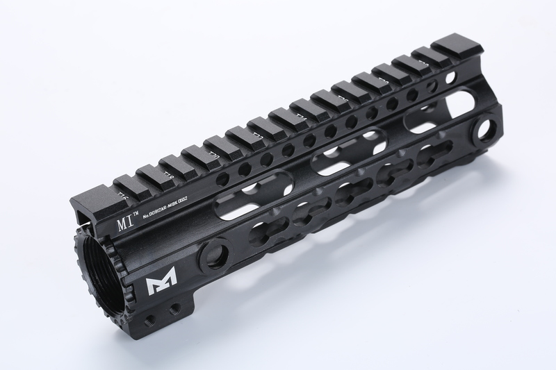 M4シリーズをかっこよくカスタムするハンドガード キーモッド 人気の製品 Broptical 超軽量 アルミ MIDWEST 注文後の変更キャンセル返品 タイプ KEYMOD ハンドガード 7inch サバゲー VFC タクティカルハンドガード 対応 マルイ 7インチ パーツ 黒 GG ブラック BK