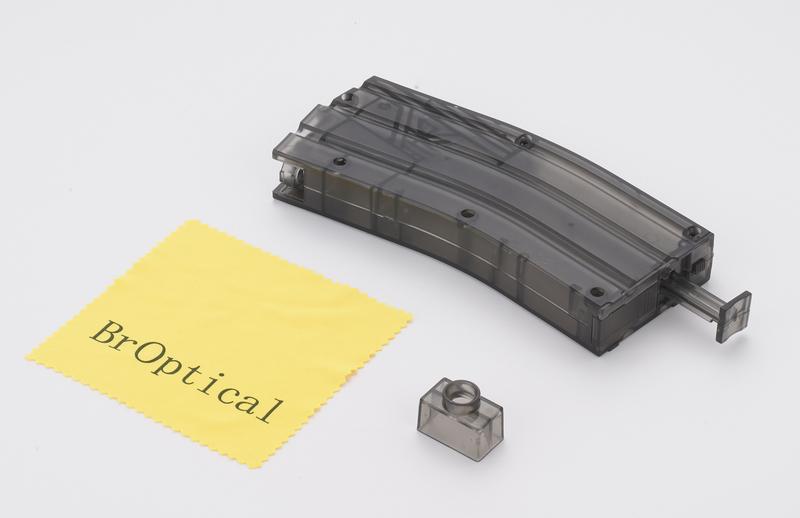 モデルガンのマガジンにすばやく給弾し 新作通販 便利な備品です Broptical 送料無料 一部地域を除く 大容量 BBローダー ハンドガン ブラック 給弾 黒 サバゲー