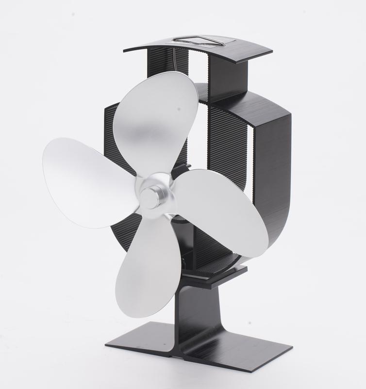 1着でも送料無料 Broptical 即納 電源不要 エコ ストーブファン 4ブレード ストーブの上に置いて空気を循環 エコファン ゼーベック効果 省エネ Seebeck effect