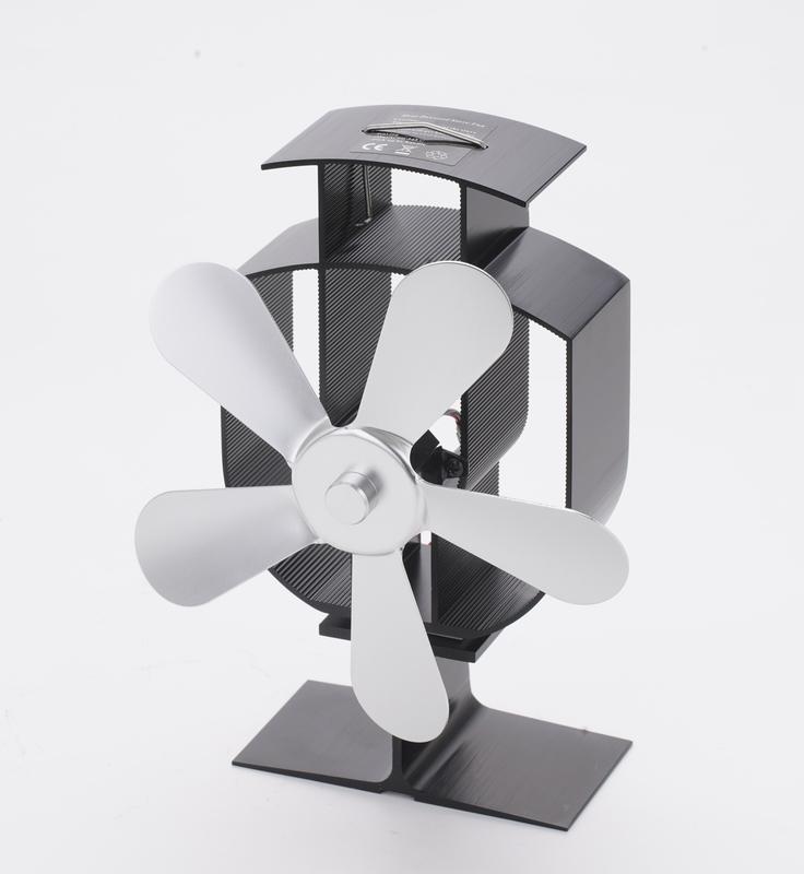 スーパーセール期間限定 Broptical 電源不要 エコ ストーブファン 5ブレード ストーブの上に置いて空気を循環 ゼーベック効果 エコファン 省エネ 当店限定販売 effect Seebeck