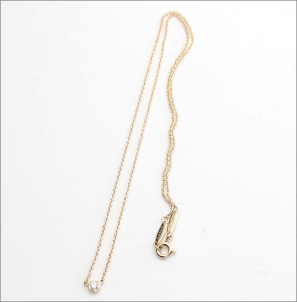 ティファニー Tiffany & Co. / ダイヤモンド バイ ザ ヤード ネックレス #10769248【スーパーSALE大特価】