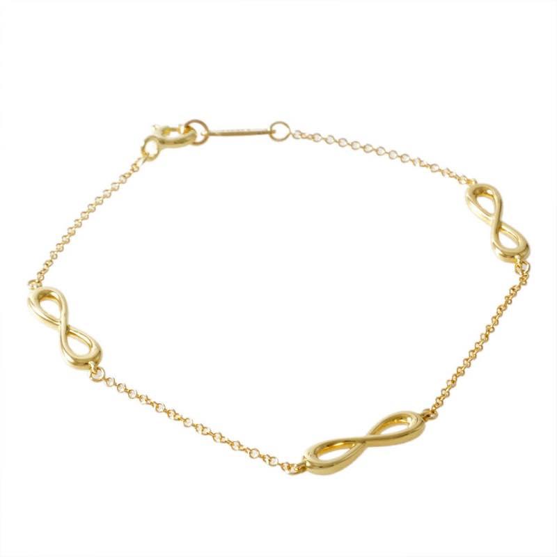 ティファニー Tiffany & Co. / インフィニティ エンドレス 18KYG 16.5cm ブレスレット #35309713