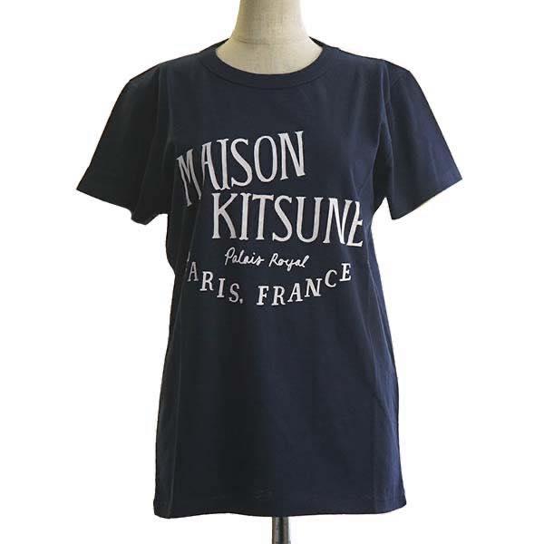 メゾン キツネ MAISON KITSUNE / TEE-SHIRT PALAIS ROYAL Tシャツ M #AW00100AT1502-NA NAVY