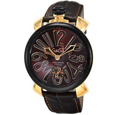 ガガミラノ GAGA MILANO / 腕時計 #501402S-BRW