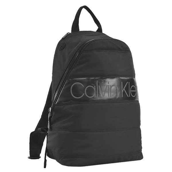 カルバン クライン Calvin Klein / PUFFER ROUND BACKPACK バックパック #K50K504783 BDS BLACK