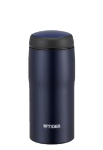 タイガー魔法瓶 ステンレスボトル 日本製 360ml マットネイビー MJA-B036AN
