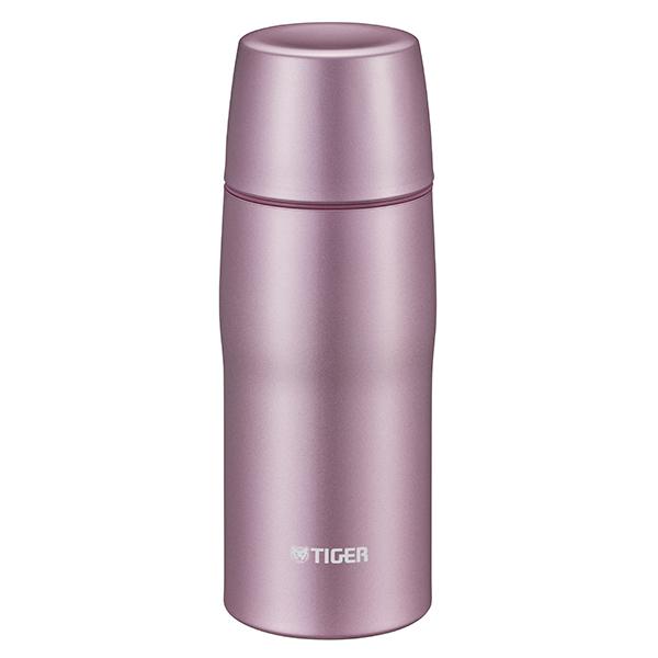 タイガー魔法瓶 ツーリスト限定モデル 日本製 保温・保冷 コップ付き ステンレスボトル 容量0.36リットル ピンク MJD-A036 P