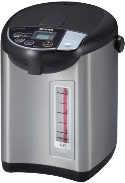 【海外向け家電】【220V仕様】 タイガー魔法瓶 電気ポット 容量4リットル PDU-A40W