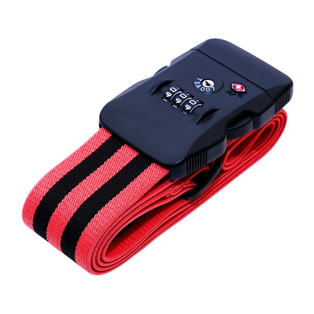 ファッション通販 ベルトが伸びて スーツケースにジャストフィット トラベルグッズ ミヨシ ジャストフィットスーツケースベルト MBZ-SBL02 BR ブラックレッド 新品未使用正規品