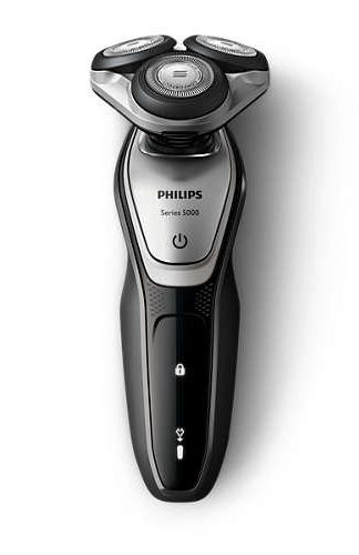 フィリップス トラベルシェーバー ウェット&ドライ電気シェーバー 充電式 アトカ/シルバー・ブラック S5072/06