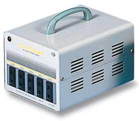 【変圧器】 スワロー電機 海外・国内兼用型トランス マルチトランス 定格容量1000VA 変換電圧100~240V SU-1000