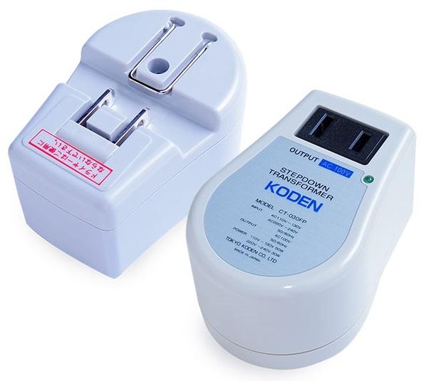 Overseas travel for transformer Tokyo Nikko electric ( KODEN ) step-down transformer CT-030FP