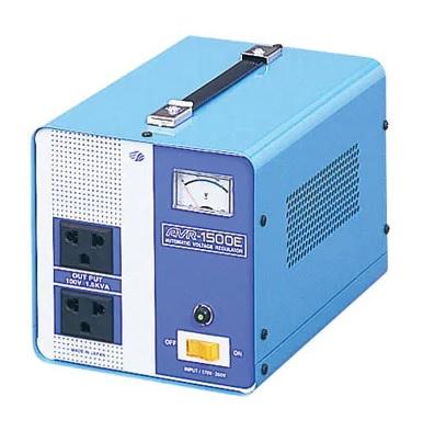【変圧器】【海外用】 スワロー電機 海外用交流定電圧電源装置 ダウントランス 定格容量1500W 170V~260V→100V変換 AVR-1500E