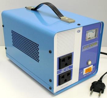 【変圧器】【海外用】 スワロー電機 海外用交流定電圧電源装置 ダウントランス 定格容量1000W 170V~260V→100V変換 AVR-1000E