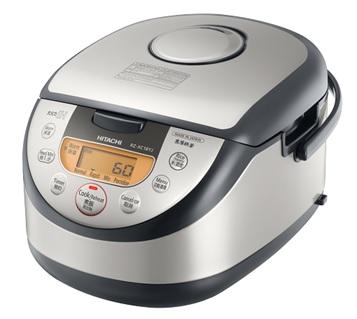 【海外向けIH炊飯器】【220~230V仕様】 HITACHI 《極上炊き》 IH炊飯ジャー 1升炊き シルバー RZ-XC18YJS