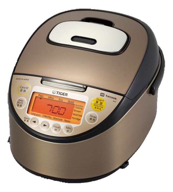 Rice cooker << 剛火 IH >> earthenware pot IH rice cooker Tiger Corp. JKT-W10W (TIGER Japanese clay pot & IH Rice cooker JKT-W10W 220V) for foreign countries