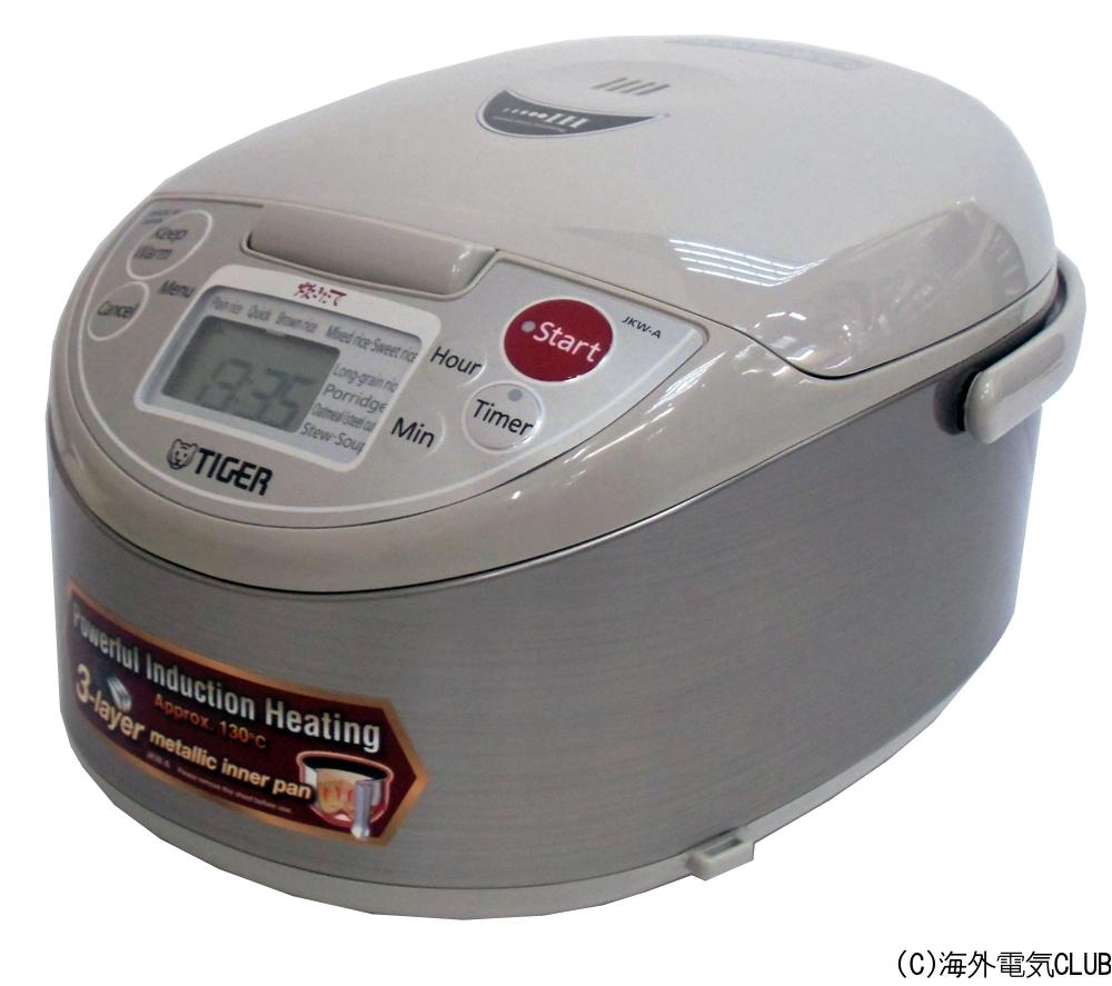 海外向けIH炊飯器 220V仕様 タイガー魔法瓶 IH炊飯ジャー 《炊きたて》 1升炊き アーバンベージュ JKW-A18W CUZ