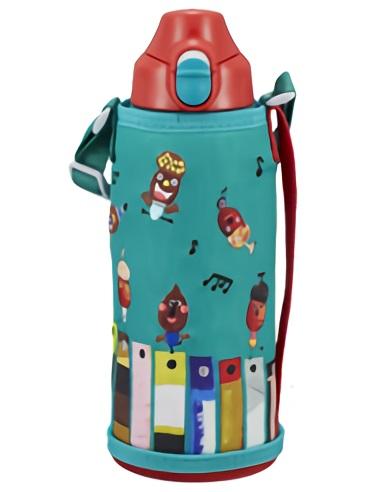 """タイガー魔法瓶 ステンレスボトル """"コロボックル"""" ドングリ MBR-H08G-GD"""