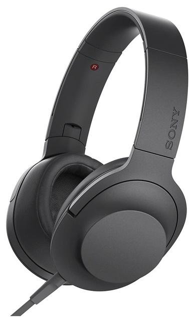 【並行輸入品】 SONY ステレオヘッドホン h.ear on チャコールブラック MDR-100AAP-BK