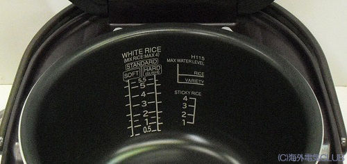■ domestic distribution ■ overseas cooker Hitachi steam pressure IH cooking the best cooked RZ-KV100KY (220 V)
