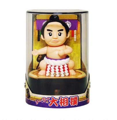 店内限界値引き中 毎日激安特売で 営業中です セルフラッピング無料 太陽の光でゆらゆら動く人形です お土産品 ソーラー人形 大相撲