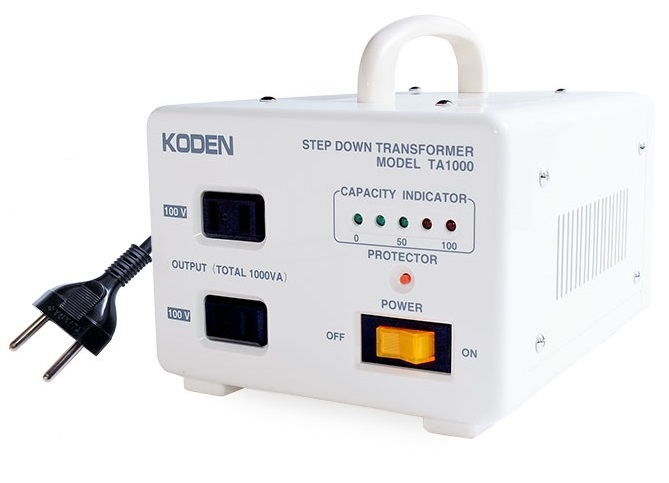 東京興電(KODEN)海外事情压变器(步降低穿过)TA-1000