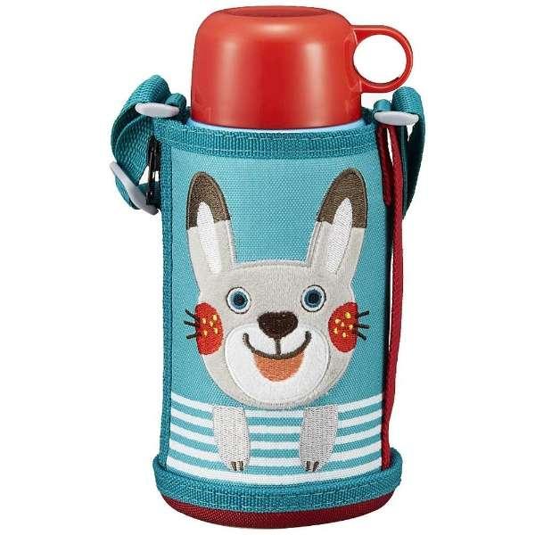 """タイガー魔法瓶 ステンレスボトル """"コロボックル サハラ 2WAY"""" ウサギ MBR-B06G AR"""