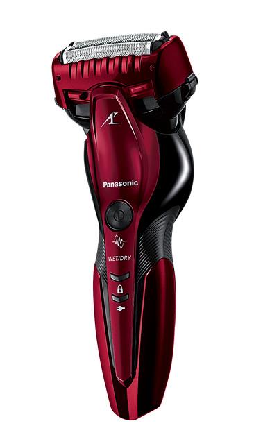 日本国内・海外両対応 電動シェーバー パナソニック メンズシェーバー 《LAMDASH》 お風呂剃りラムダッシュ 3枚刃 レッド ES-CST6R-R