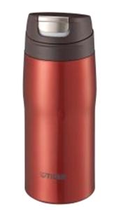 【ステンレスマグボトル】 タイガー魔法瓶 保温・保冷 軽量 ステンレスマグ レッド MJC-A036R