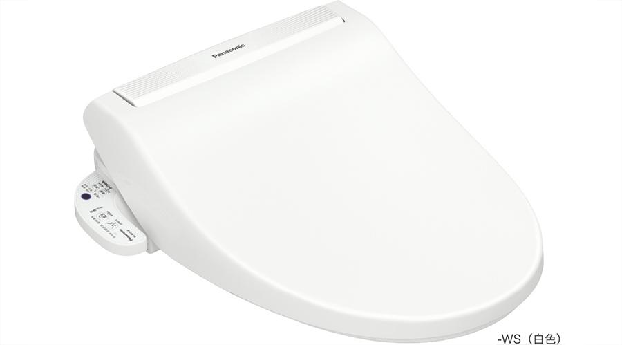 【海外向け家電】【220V仕様】 パナソニック 温水洗浄便座 水道直結給水式 ホワイト DL-RG31JP-WS