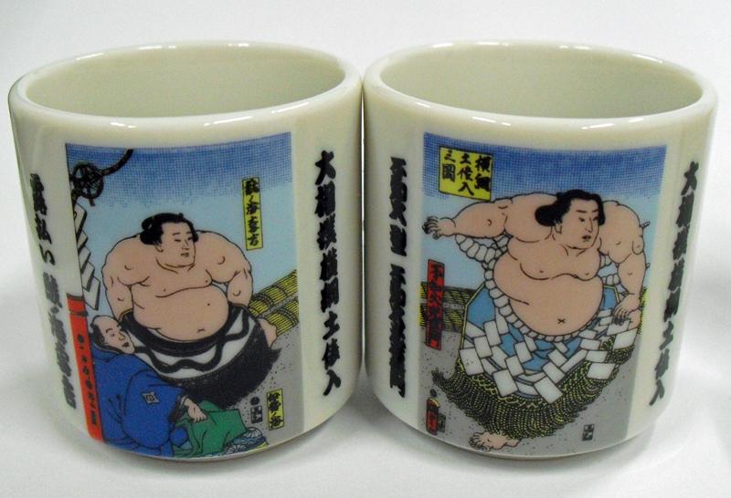 Sake set ( Sumo )