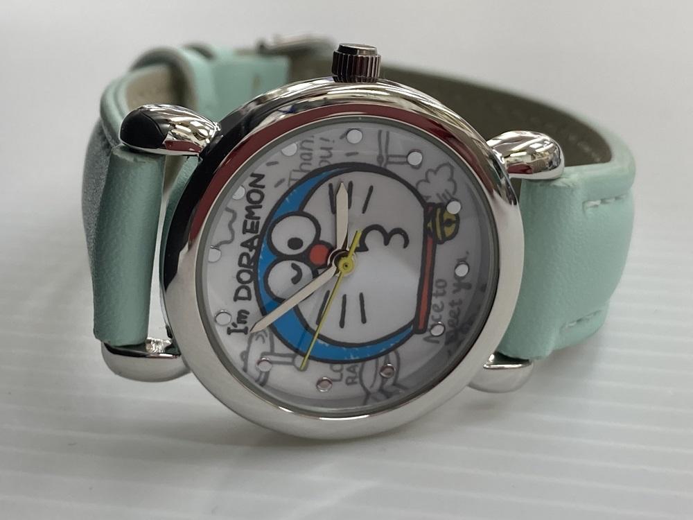 大人気ドラえもんの腕時計 結婚祝い メール便対象商品 ドラえもん DORAEMON 高い素材 サンフレイム SR-V22 キッズ サンリオ 腕時計