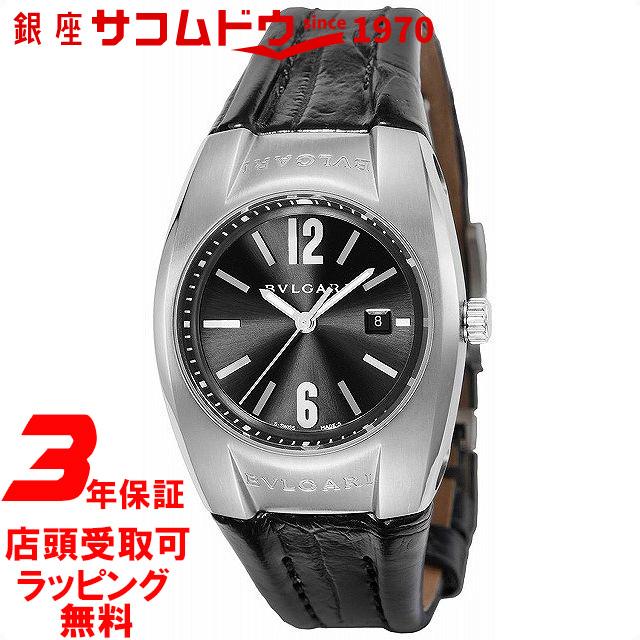 【店頭受取対応商品】[3年保証] ブルガリ BVLGARI 腕時計 ウォッチ エルゴン ブラック文字盤 EG30BSLD レディース [並行輸入品]