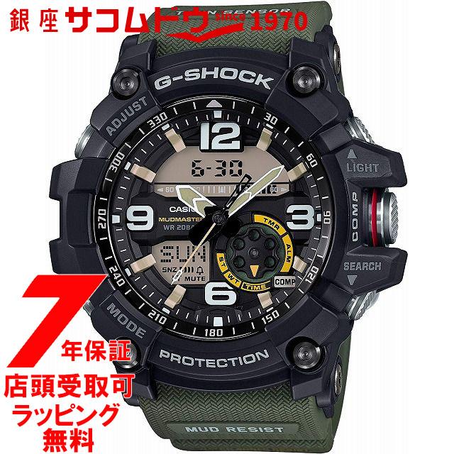 【店頭受取対応商品】[7年延長保証] [カシオ]CASIO 腕時計 G-SHOCK ウォッチ ジーショック ウォッチ マッドマスター GG-1000-1A3JF メンズ