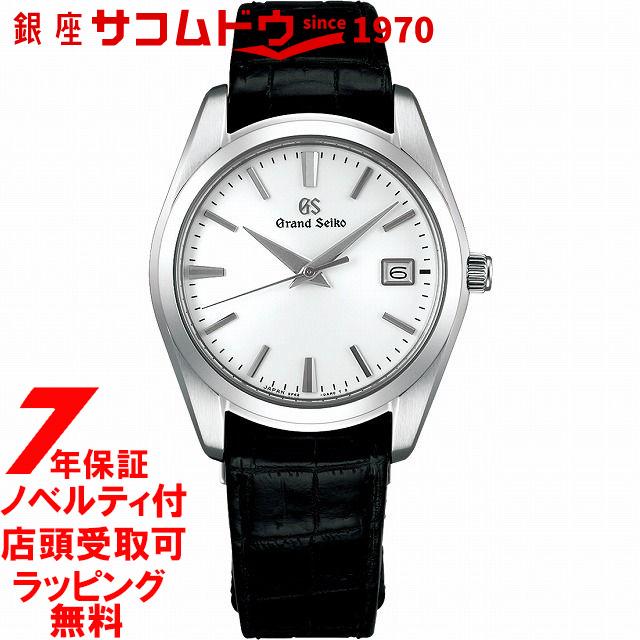 【店頭受取対応商品】【ノベルティ付き】グランドセイコー SBGX295 9Fクオーツ 40mm メンズ 腕時計 GRAND SEIKO 9F62 クォーツ sbgx295 ホワイト